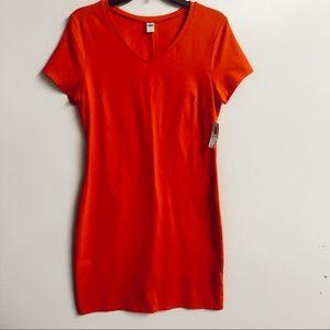 NWT Old Navy V Neck T Shirt Dress sz medium✨